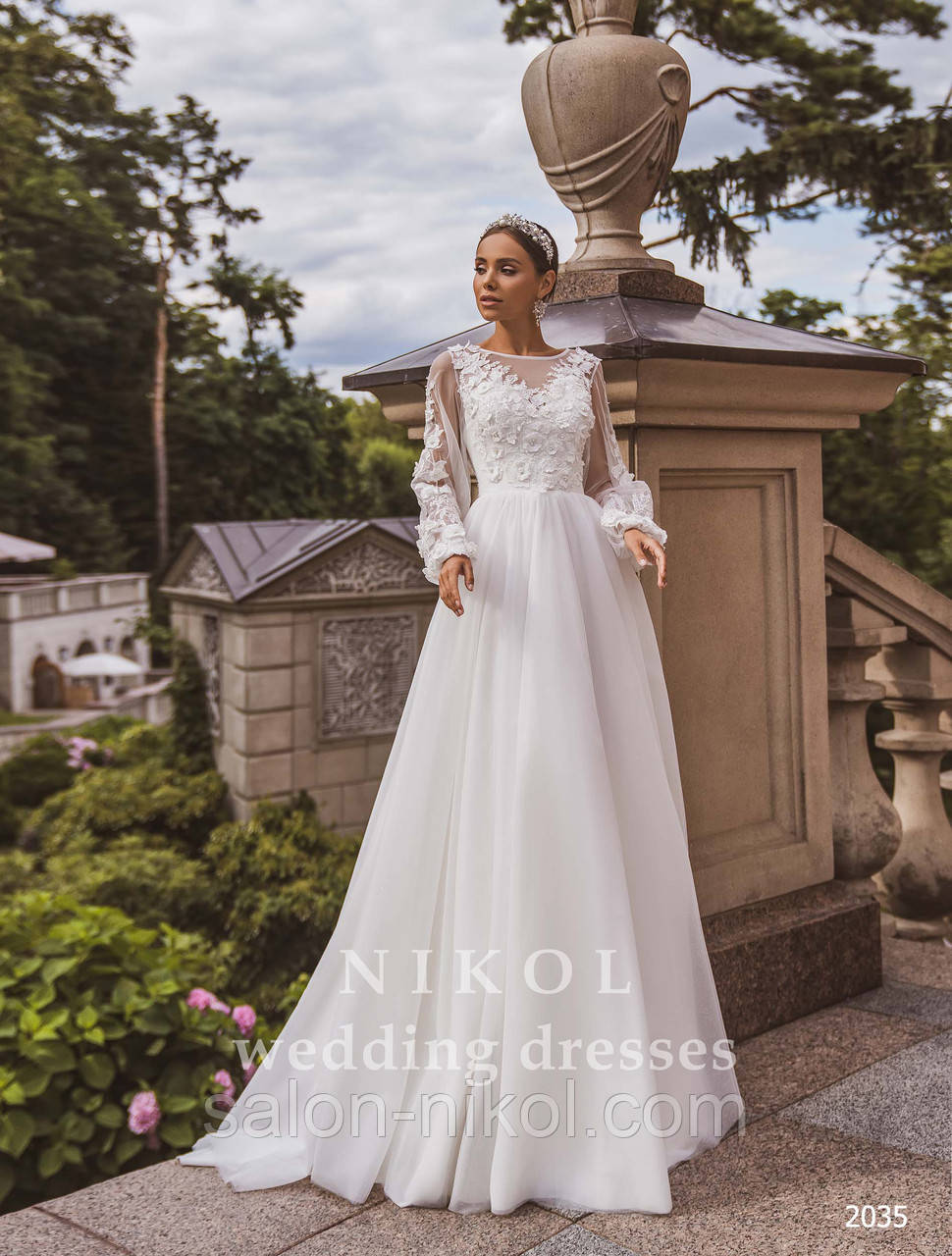 Свадебное платье № 2035