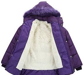 Утепленная женская куртка на зиму
