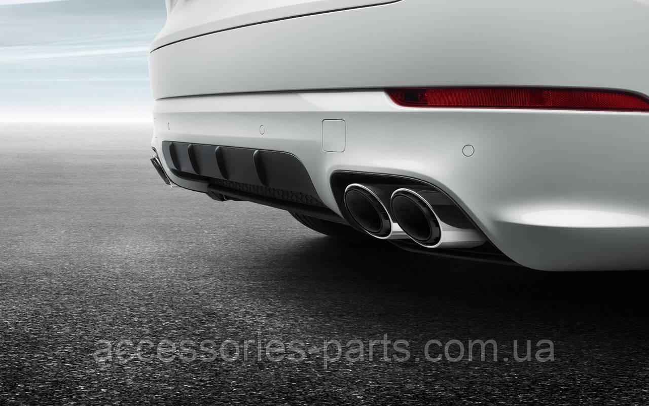 Насадки на глушитель Porsche Cayenne E3 II 2018+ Новые Оригинальные