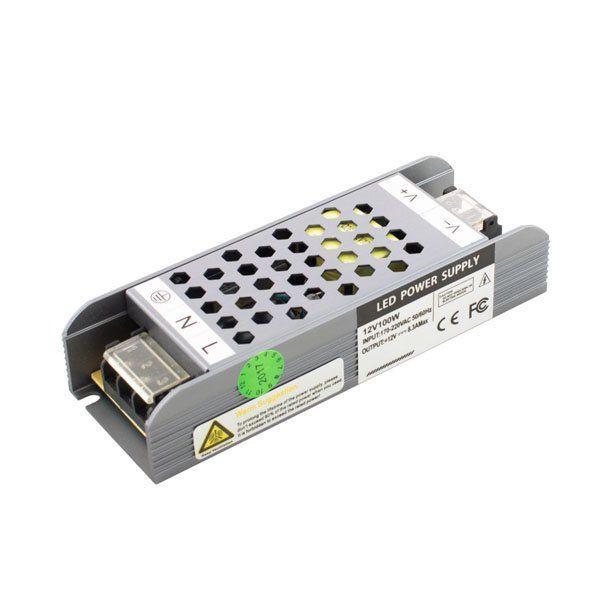 Блок питания Professional DC12 100W 8,3А 140*49*29