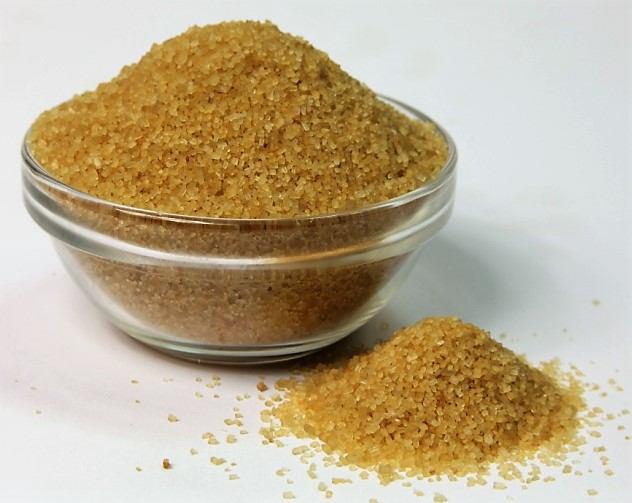 Сахар  коричневый кристаллизованный 400г