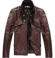 Куртка искусственная кожа pu мужская