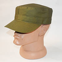 Однотонная кепка цвета хаки