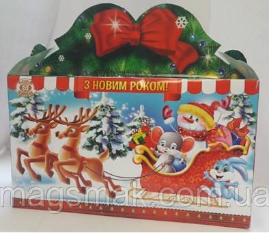 """Новогодний подарок ХБФ """"Рождественские олени"""" 2019-2020"""
