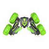 Автомобиль трансформер, трюковой на радиоуправлении  JJRC SY005 Stunt Car зелёный (JJRC-SY005G), фото 4