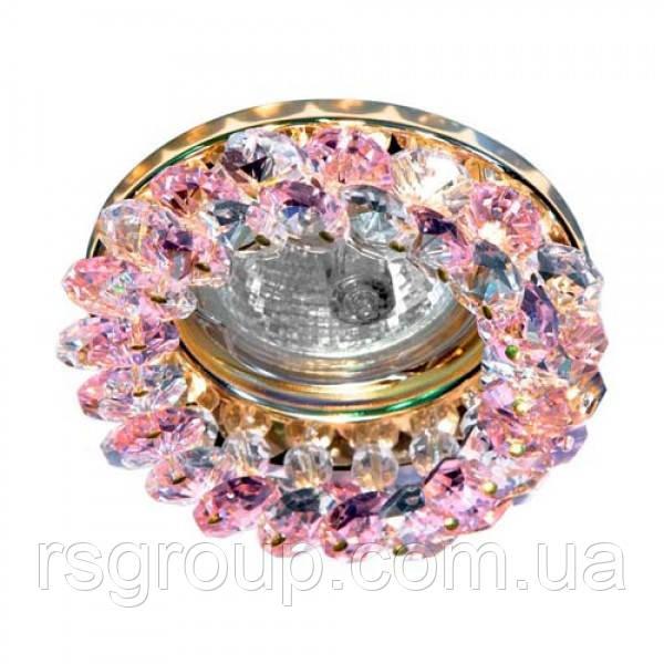 Встраиваемый светильник Feron CD4141 розовый золото