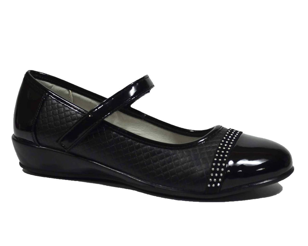 Туфлі ТОМ.М арт.1470-A, чорний, Черный, 35, 23.0