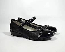Туфлі ТОМ.М арт.1470-A, чорний, Черный, 35, 23.0, фото 2