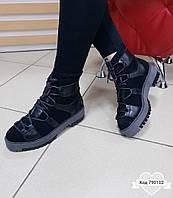 Модны ботинки на меху Код 790102, фото 1