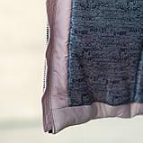 """Практичная водонепроницаемая зимняя куртка для девочки""""Кнопки""""3853-4, фото 7"""