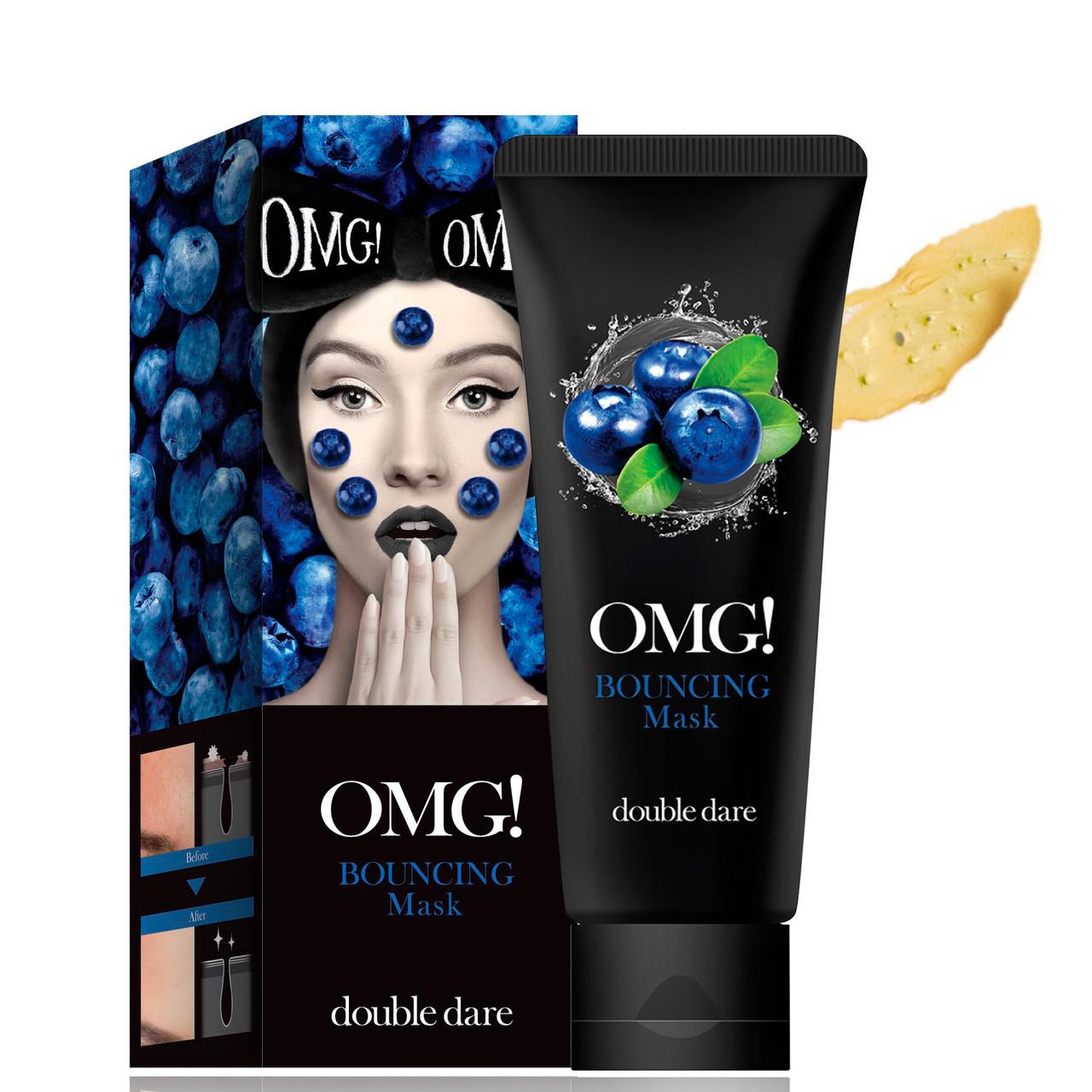 Маска укрепляющая для детоксикации кожи Double Dare Omg! Bouncing Mask, 1 Шт