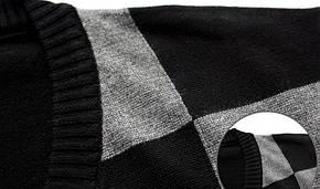 Утепленный мужской свитер, фото 3