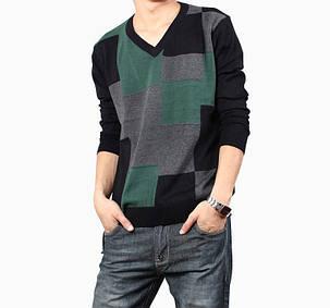 Утепленный мужской свитер, фото 2