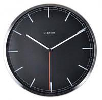 """Годинники настінні """"Сомрапу-stripe"""", чорні Ø35 см, фото 1"""