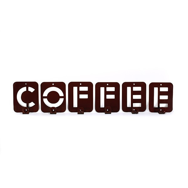 Вешалка настенная Glozis Coffee