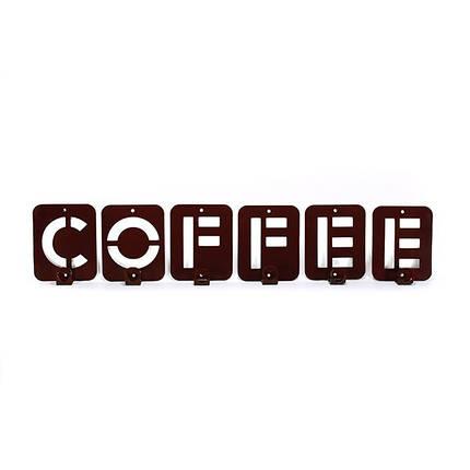 Вешалка настенная Glozis Coffee, фото 2