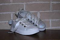 Кроссовки, кеды, туфли, белые мокасины, на девочку, белые кросовки, для школы, обувь подросток, детская