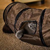 PAWZ Road игровой тоннель для кошек 2 поворота шуршит с чехлом