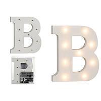 Буква В декоративная с LED подсветкой