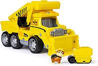 Щенячий патруль Большой спасательный грузовик Крепыша свет звук Paw Patrol Ultimate Rescue Construction Truck