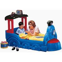 Кровать в виде поровоза