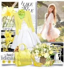 купить сумку яркую желтую