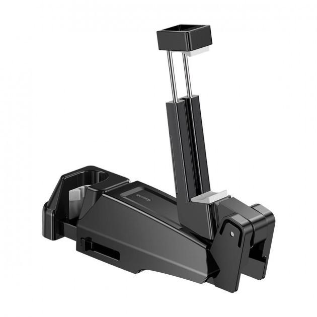 """Держатель для Телефона в Машину на Подголовник Baseus (SUHZ-A01) 6.5"""" Черный"""