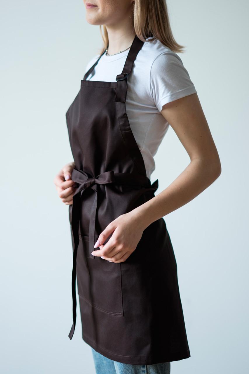 Фартук Latte для повара, бариста, официанта