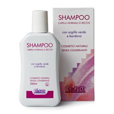Органический шампунь для нормальных волос Argital