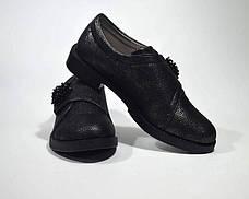 Туфлі TOM.M арт.5961-A, чорний, Черный, 34, 22.5, фото 2