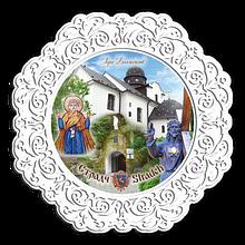 Тарелка деревянная 23 см Страдс- Гора Блаженств