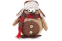 Мягкая новогодняя игрушка Пингвин, 30см