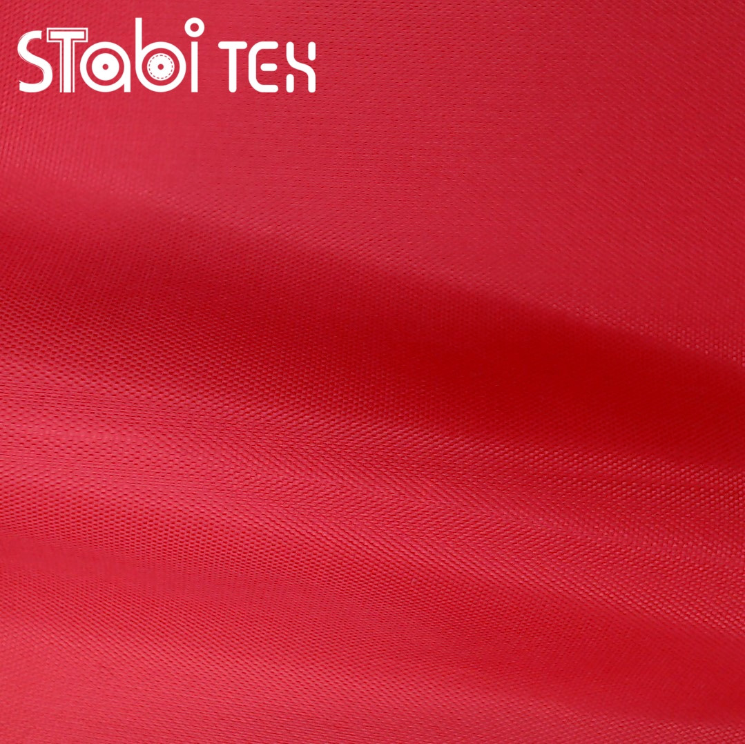 Ткань сумочная оксфорд 270Д ПВХ 3289 плотная Красный