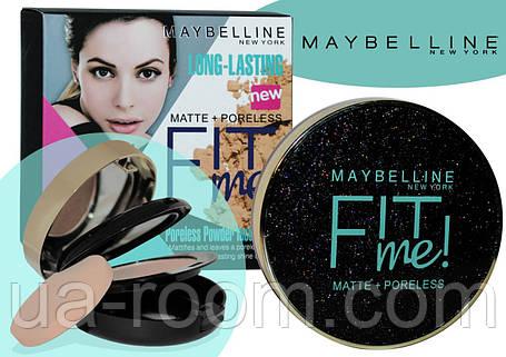 Компактная двойная пудра MAYBELLINE Fit Me Matte+Poreless, фото 2