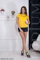 Трендовые молодежные шорты с разрезами Alessa