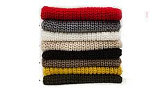 Элегантный вязанный шарф кольцо, фото 3