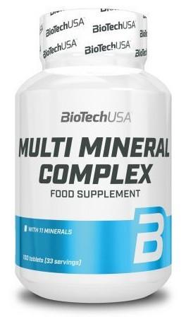 Минеральный комплекс BioTech - Multi Mineral Complex (100 таблеток)