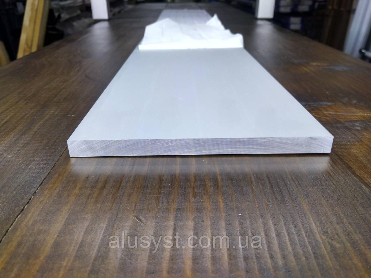 Алюминиевая полоса 140х10, анод 1 метр   Шина