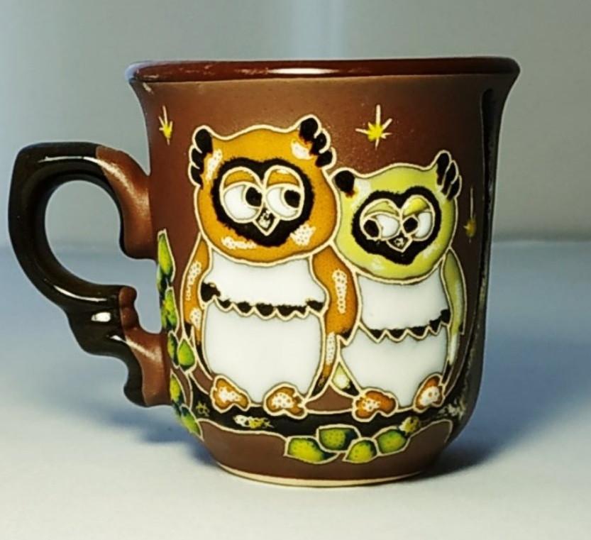 """Чашка кофейная 150мл """"Две совы"""""""