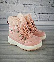 Зимние сапоги для девочек. Розовый Clibee 25, Розовый, Зима