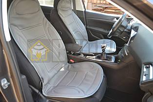 Накидка на сиденье с подогревом высокая серая, Lavita LA 140402GR
