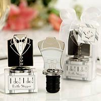 "Подарки гостям на свадьбе - набор для бутылки ""леди и джентльмен"", компл.2 шт"