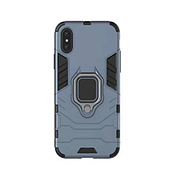 Противоударный чехол Armor Ring для Iphone XS Blue