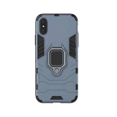 Противоударный чехол Armor Ring для Xiaomi Mi Pocophone F1 Blue