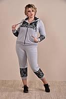 Серый спортивный костюм 0253-1 GARRY-STAR