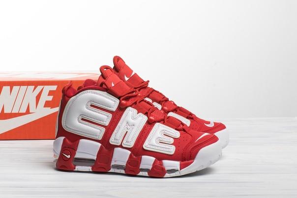 Мужские кроссовки в стиле Nike Air More Uptempo Supreme