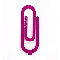 Вешалка настенная Glozis Clip Purple