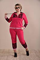 Красный спортивный костюм 0253-2 GARRY-STAR