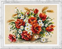 Набор для вышивания крестом «Букет полевых»
