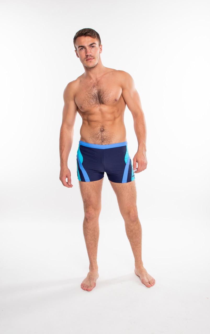 Плавки мужские купальные Shepa 408 (original), трусы-боксеры для бассейна, пляжа SportLavka